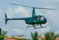 Helicopter Taxi is available