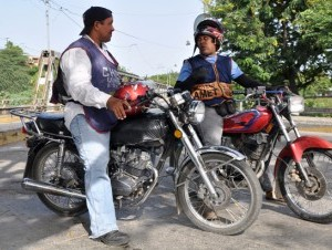 Motoconchos - cheap local transportation
