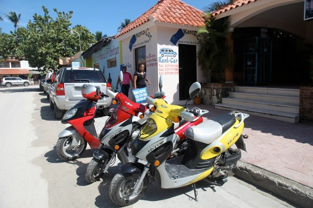 Rent a scooter in Punta Cana